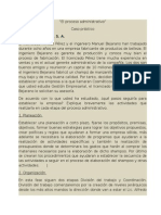 El Proceso Administrativo Caso p Completo