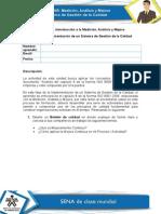 Unidad N°1. Introducción a la Medición, Análisis y Mejora