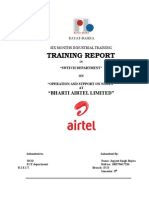 Final Report airtel