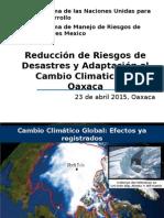 Presentación Prevención de Riesgos Oaxaca 23 de Abril