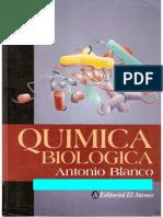 Quimica Biologica Antonio Blanco