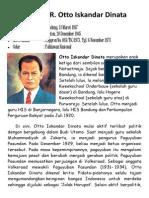Biografi R Otto Iskandar Dinata