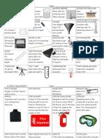 scienceequipment glossary
