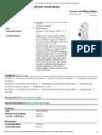 ABB S201-C2 - Interruptores Automáticos Modulares - Aparatos Modulares de Instalación
