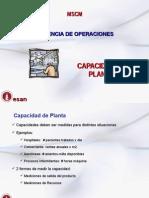 S9 GOP Capacidad de Planta