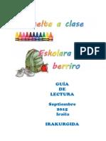 2015ko Iraila - Eskola