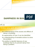 Dampness in Buildings 1
