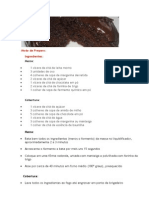 Bolo de Chocolate de Liquidificador Molhadinho