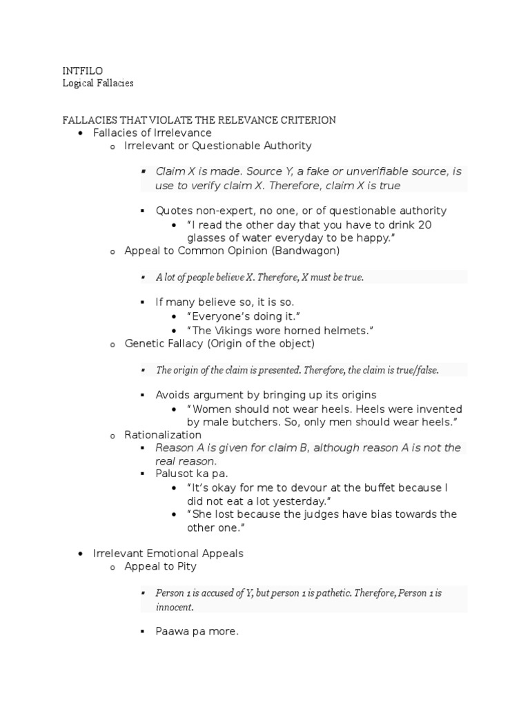 reasoning fallacies essay What this handout is about this handout discusses common logical fallacies that you may encounter in your own writing or the writing of others the handout provides.