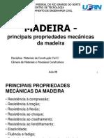 Aula- 9B Propriedades Mecânicas Das Madeiras