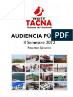 Resumen Ejecutivo Audiencia II Semestre 2012 Final u Imprimir 145