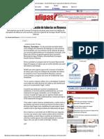 09-11-2015 Invertirán 40 Mdp en Reparación de Tuberías en Reynosa