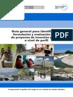 Guia Gneral Para Identificacion SNIP 2014