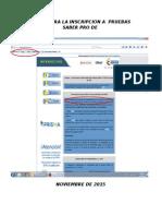 Pasos Para La Inscripcion a Pruebas Saber Pro de (1)