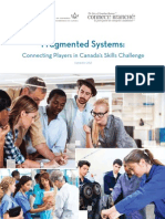 Fragmented Systems Connecting Players in Canada's Skills Challenge