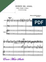Piano Astor Piazzolla,Trio La Muerte Del Angel