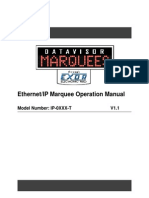 Ethernet IP Marquee Manual