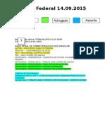 Diário Federal 14.09.2015
