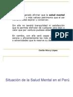 situacion de La Salud Mental Psicosis 2012