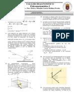 Primer Taller Analisis Vectorial