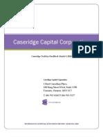 Caseridge Capital Corporation