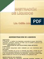 ADMINISTRACIÓN DE LÍQUIDOS