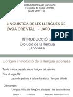 2 Evolució de La Llengua Japonesa (2)