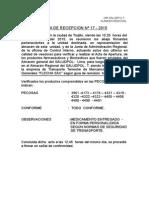 Acta Recepcion 2015