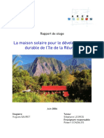 155 La Maison Solaire Pour Le Dd de La Reunion Rapport Hsauret