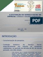 Slides - Serviço Social Empresa - Joinpp 2015