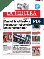 Diario La Tercera 14.09.2015