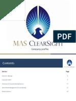 MAS ClearSight Corporate Profile