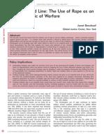 Benshoof 2014 Global Policy