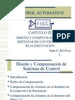 9 Diseño compensacion sistemas control realimentacion.ppt