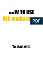 how to use VLC
