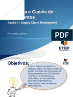 Logística e Cadeia de Suprimentos Supply chain management