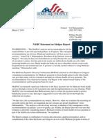 NAHC Statement on Medpac Report
