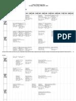 UPES Aerospace Engg. 2015-16 Semester-I Time Table