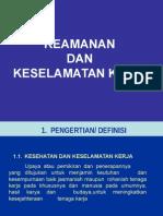 3.a. Keamanan Dan Keselamatan Kerja