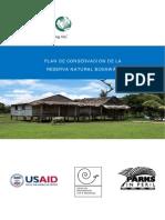 Plan de Conservacion de Reserva de Biosfera de Bosawas