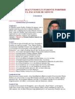 Decembrie 02 - Acatistul Preacuviosului Părinte Porfirie Noul Făcător de Minuni