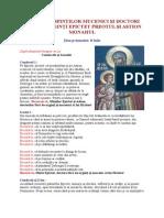 Iulie 08 - Acatistul Sfinţilor Mucenici Şi Doctori Fără de Arginţi Epictet Preotul Şi Astion Monahul