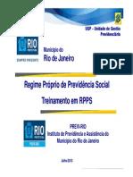 RPPS PREVI RIO Compensação Previdenciária