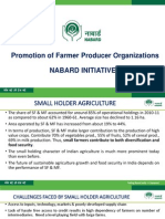 NABARD Presentation on FPO
