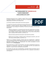Proposta de Carta Financera - Guanyar Alcoi