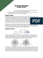WJEC GCSE Physics Revision - Seismic Waves