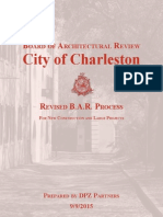 Revised BAR Process report - City of Charleston/DPZ