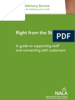 Right From the Start - A Guide to Support Staff and Connecting With Customers
