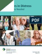 Caregivers in Distress Report