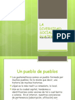 La Diversidad Social en Guatemala